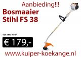 Bosmaaier Stihl FS 38